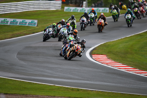 Second position for Mackenzie at Oulton Park in tricky conditions.